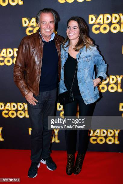 Actor of the movie Michel Leeb and his daughter Fanny attend the Daddy Cool Paris Premiere at UGC Cine Cite Bercy on October 26 2017 in Paris France