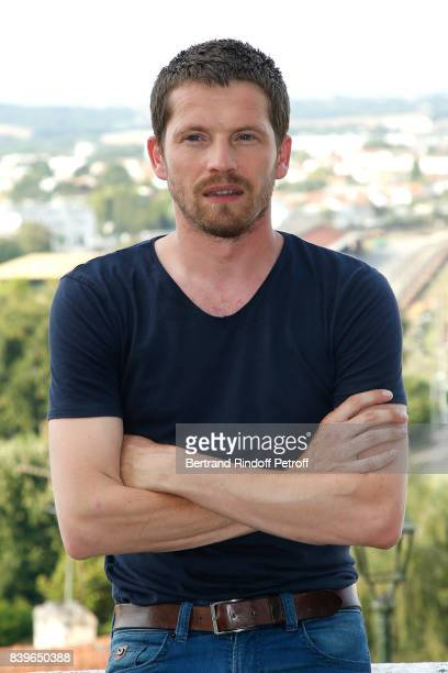 Actor of the movie 'Nos annees folles' Pierre Deladonchamps attends the 10th Angouleme FrenchSpeaking Film Festival Day Five on August 26 2017 in...