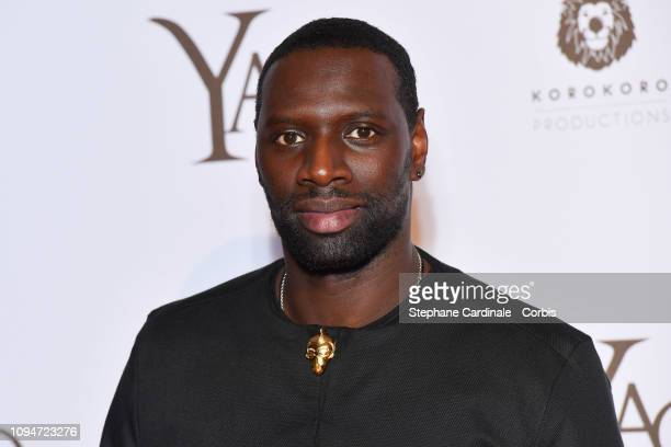 Actor of the movie Omar Sy attends 'Yao' Paris Premiere at Le Grand Rex on January 15 2019 in Paris France