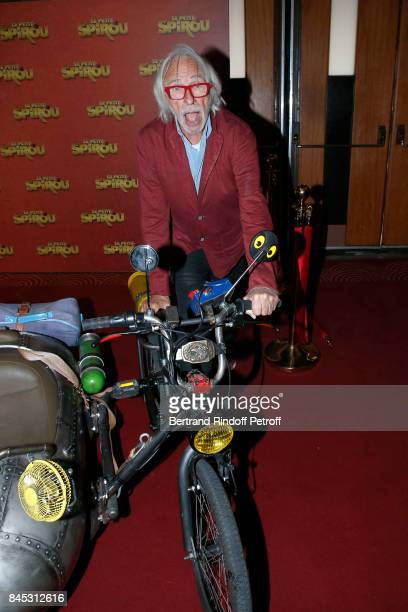 Actor of the movie Pierre Richard attends the 'Le Petit Spirou' Paris Premiere at Le Grand Rex on September 10 2017 in Paris France