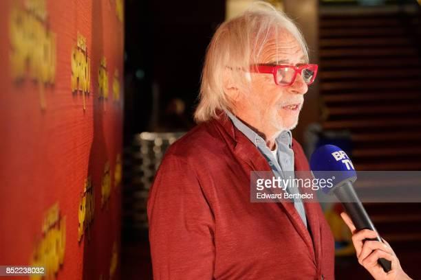 Actor of the movie Pierre Richard attends the 'Le Petit Spirou' Paris Premiere at Le Grand Rex on September 10 2017 in Paris France