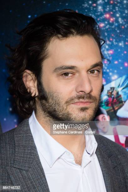 Actor of the movie Pio Marmai attends the 'Santa Cie' Paris Premiere at Cinema Pathe Beaugrenelle on December 3 2017 in Paris France