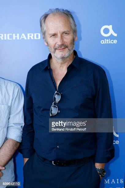 Actor of the movie 'Surface de reparation' Hippolyte Girardot attends the 10th Angouleme FrenchSpeaking Film Festival Day Five on August 26 2017 in...