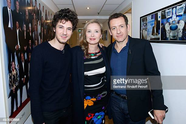 Actor of the Movie Vincent Lacoste Director and Actress of the Movie Julie Delpy and Actor of the Movie Dany Boon present the movie 'Lolo' during the...