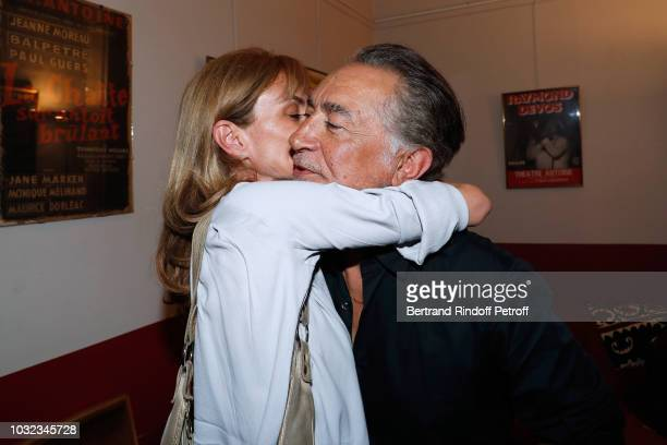 Actor of the Piece Richard Berry and his wife Pascale Louange attend the Plaidoiries Theater Play Runthrough at Theatre Antoine on September 12 2018...