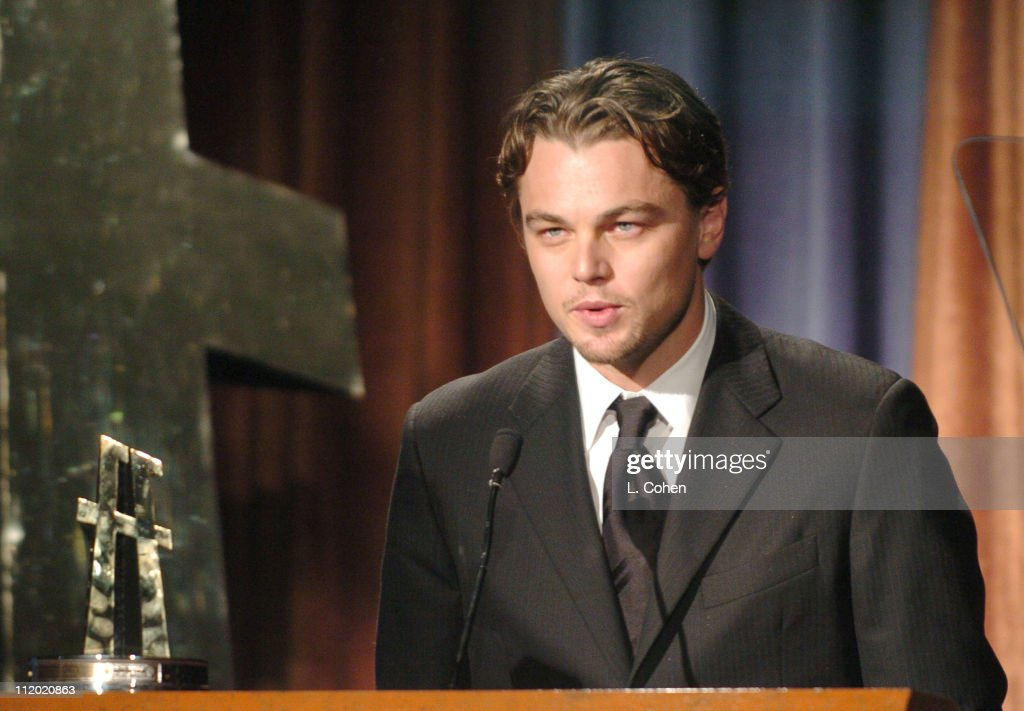 Actor of the Year Leonardo DiCaprio during The 8th Annual Hollywood Film Festival Awards Ceremony - Show at The Beverly Hilton Hotel in Beverly Hills, California, United States.