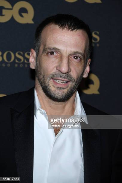 Actor of the year Mathieu Kassovitz attends GQ Men Of The Year Awards 2017 at Le Trianon on November 15 2017 in Paris France