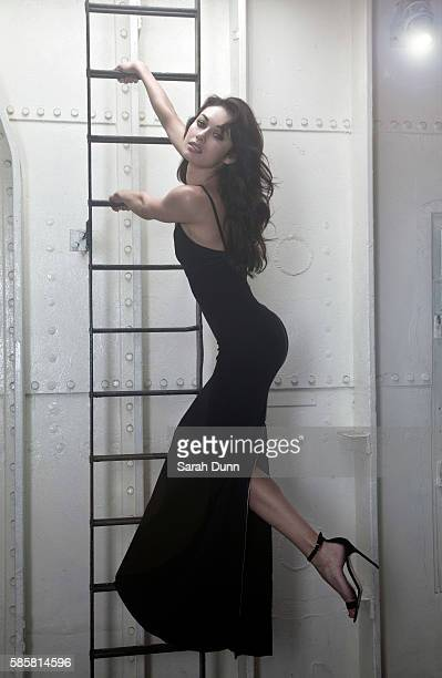 Actor Olga Kurylenko is photographed for Empire magazine on January 18 2013 in London England