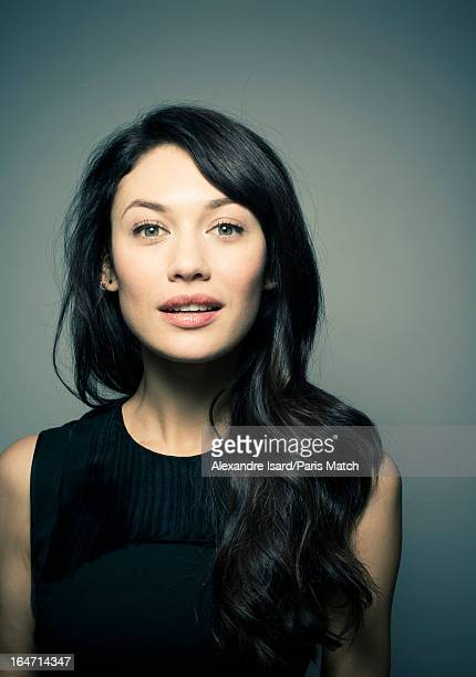 Actor Olga Kurylenko is photographed for Paris Match on February 12 2013 in Paris France