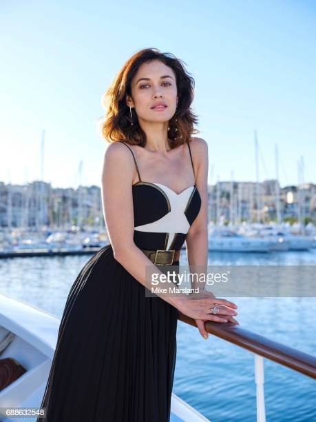 Actor Olga Kurylenko is photographed on May 20 2017 in Cannes France