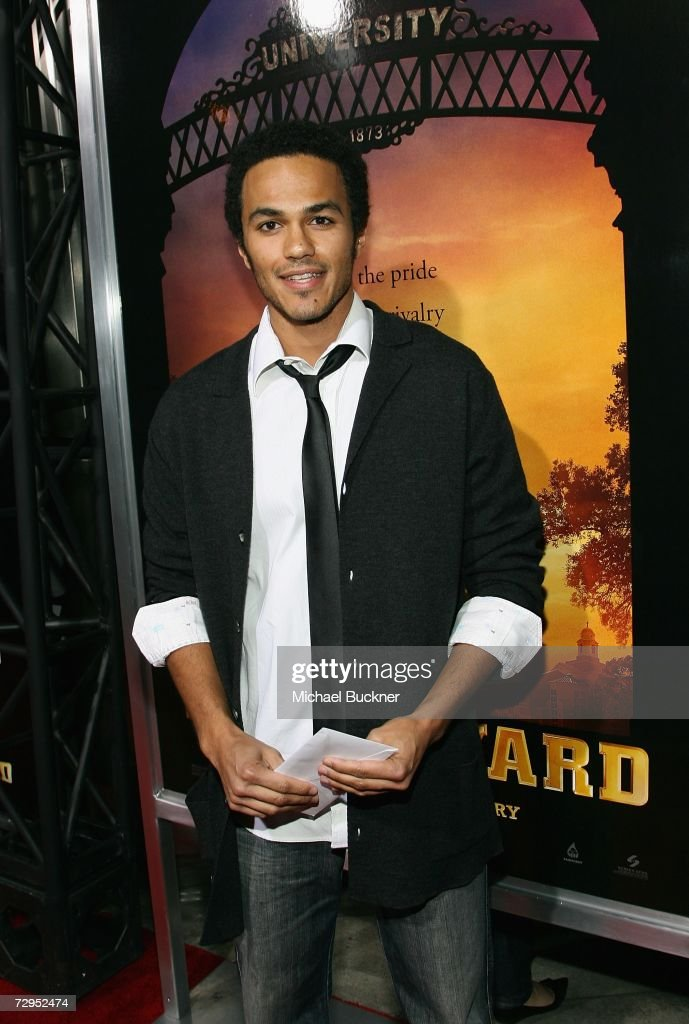 Actor Oliver Best arrives at the premiere of Screen Gem's 'Stomp The Yard' at the Cinerama Dome on January 8, 2007 in Los Angeles, California.