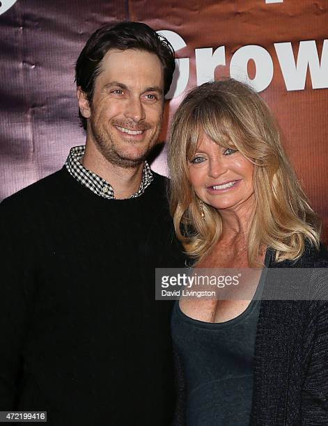 Actor Oliver Hudson and mother actress Goldie Hawn attend the premiere of Roadside Attractions' Godspeed Pictures' 'Where Hope Grows' at ArcLight...
