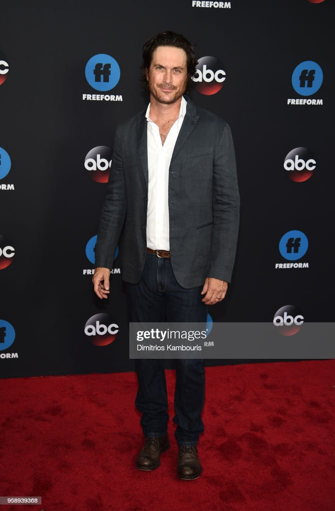 Actor Oliver Hudson attends during 2018 Disney, ABC, Freeform Upfront at Tavern On The Green on May 15, 2018 in New York City.