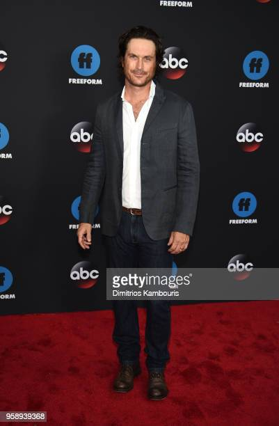 Actor Oliver Hudson attends during 2018 Disney ABC Freeform Upfront at Tavern On The Green on May 15 2018 in New York City