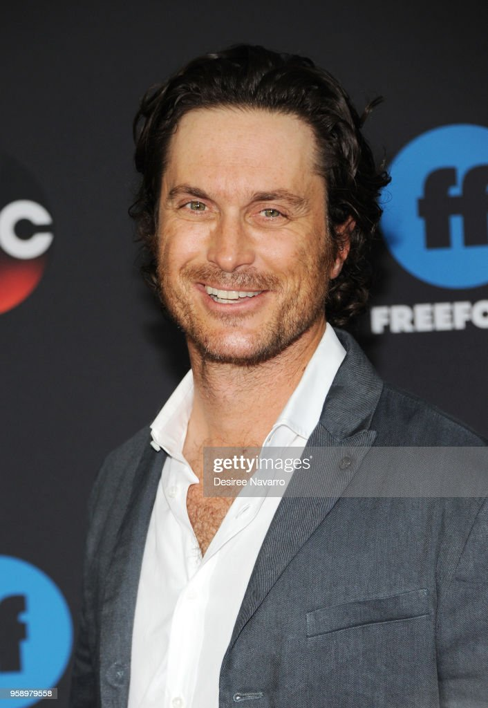 Actor Oliver Hudson attends during 2018 Disney, ABC, Freeform Upfront on May 15, 2018 in New York City.