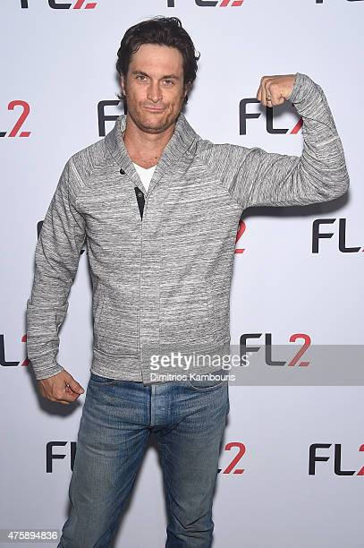 Actor Oliver Hudson attends the FL2 Launch on June 4 2015 in New York City