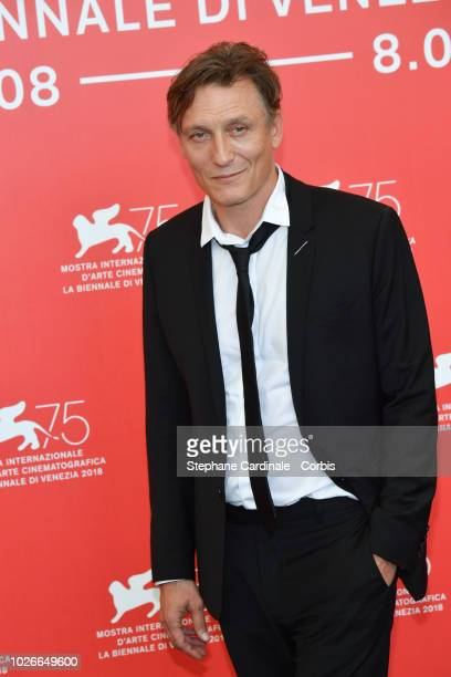 Actor Oliver Masucci attends 'Werk Ohne Autor ' photocall during the 75th Venice Film Festival at Sala Casino on September 4 2018 in Venice Italy