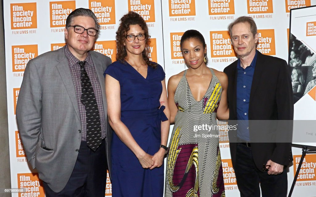 Actor Oliver Platt, filmmaker Rebecca Miller, actors Susan Kelechi Watson and Steve Buscemi attend an Evening for Film in Education hosted by the The Film Society of Lincoln Center at Walter Reade Theater on June 19, 2017 in New York City.