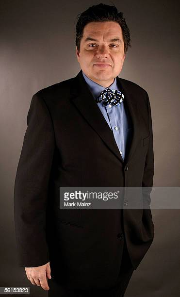 Actor Oliver Platt of the film 'Casanova' poses for a portrait during the AFI Fest 2005 presented by Audi at the Arclight Theatre November 13 2005 in...