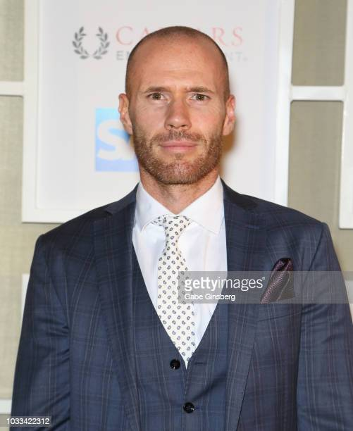 Actor Oliver Trevena attends Imagine Dragons' fifth annual Tyler Robinson Foundation Rise Up Gala benefiting families affected by pediatric cancer at...