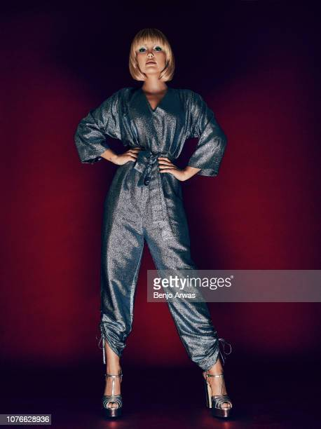 Actor Olivia Holt is photographed for Fault magazine on May 11, 2018 in Los Angeles, United States.
