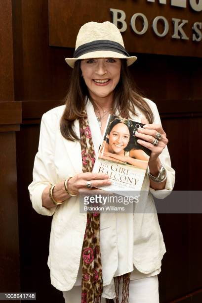 Actor Olivia Hussey presents her new book 'The Girl on the Balcony' at Barnes Noble at The Grove on July 31 2018 in Los Angeles California