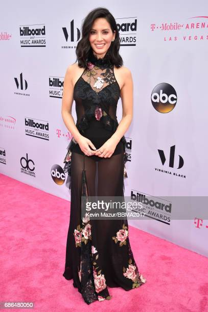Actor Olivia Munn attends the 2017 Billboard Music Awards at T-Mobile Arena on May 21, 2017 in Las Vegas, Nevada.
