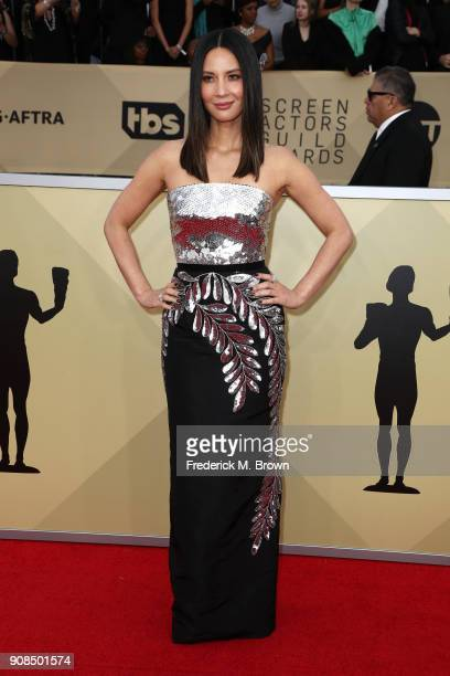 Actor Olivia Munn attends the 24th Annual Screen Actors Guild Awards at The Shrine Auditorium on January 21 2018 in Los Angeles California 27522_017