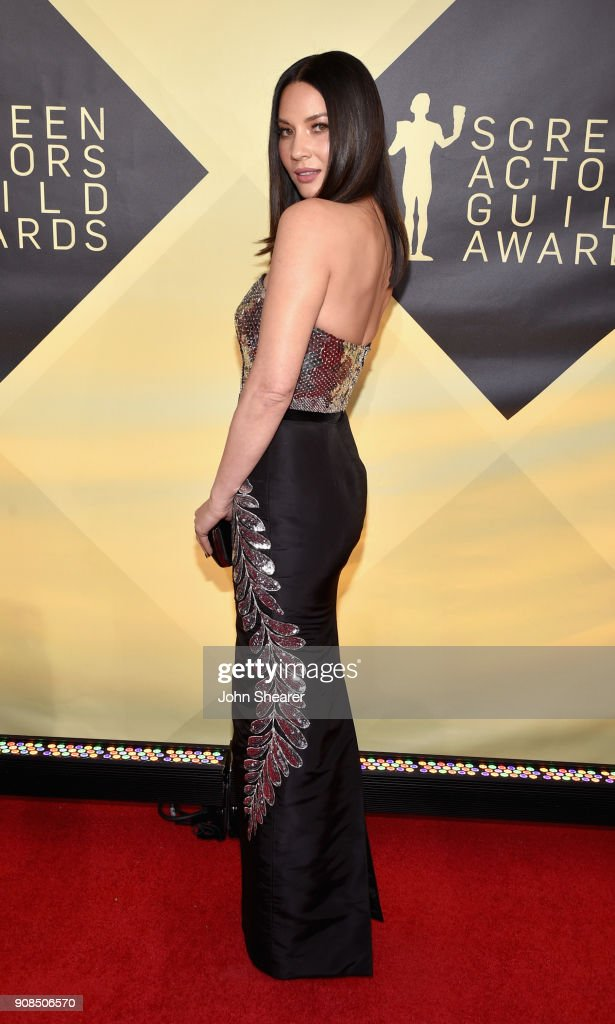 Actor Olivia Munn attends the 24th Annual Screen Actors Guild Awards at The Shrine Auditorium on January 21, 2018 in Los Angeles, California.