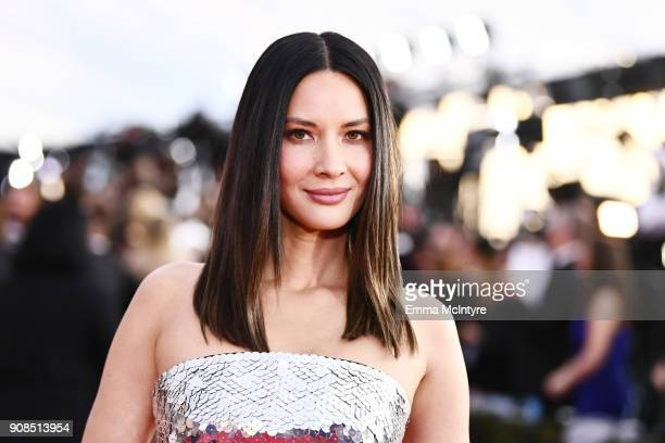 Actor Olivia Munn attends the 24th Annual Screen Actors Guild Awards at The Shrine Auditorium on January 21 2018 in Los Angeles California 27522_011