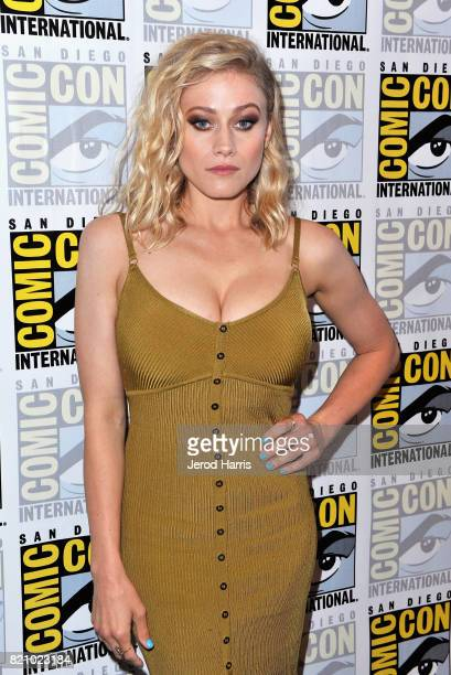 Actor Olivia Taylor Dudley at The Magicians Press Line during ComicCon International 2017 at Hilton Bayfront on July 22 2017 in San Diego California