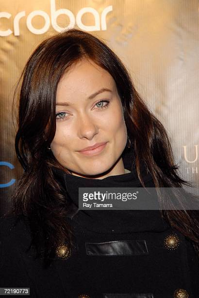 Actor Olivia Wilde attends Diddy's Vibe Magazine Cover Celebration and Press Play Album Release Party at Crobar on October 16 2006 in New York City