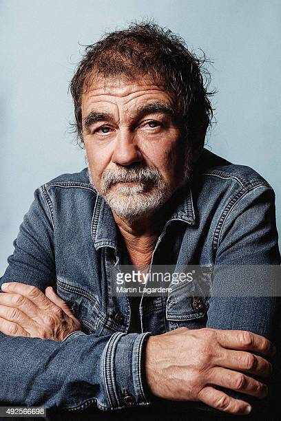 Actor Olivier Marchal is photographed for Self Assignment on October 5 2015 in Saint Jean de Luz France