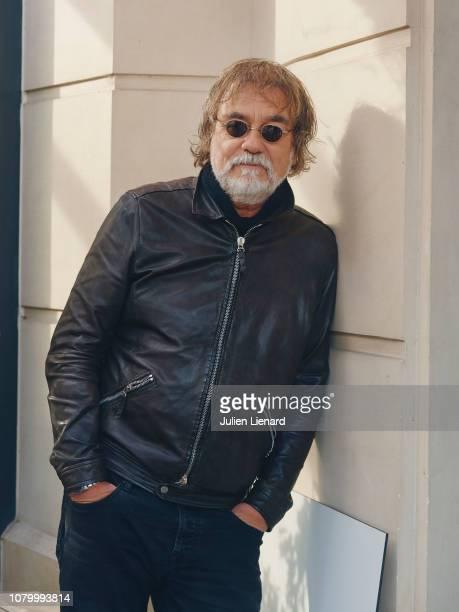 Actor Olivier Marchal poses for a portrait on November 2018 in Paris France