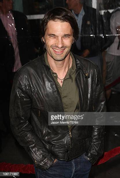 """Actor Olivier Martinez arrives to the industry screening for """"American Gangster"""" at the Arclight on October 29, 2007 in Hollywood, California."""