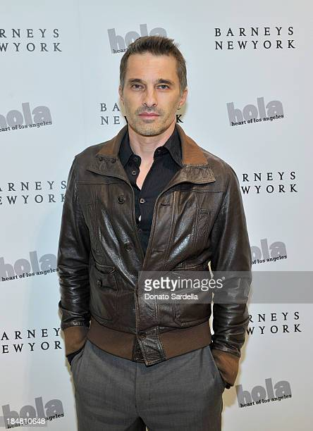 Actor Olivier Martinez attends a cocktail event in support of HOLA Heart of Los Angeles hosted by Barneys New York Simon Doonan and The HOLA Chair...
