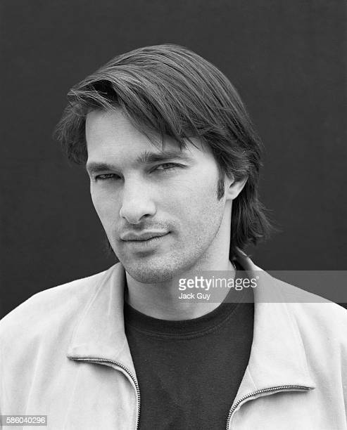 Actor Olivier Martinez is photographed for Movieline Magazine in 2002 in Los Angeles California PUBLISHED IMAGE