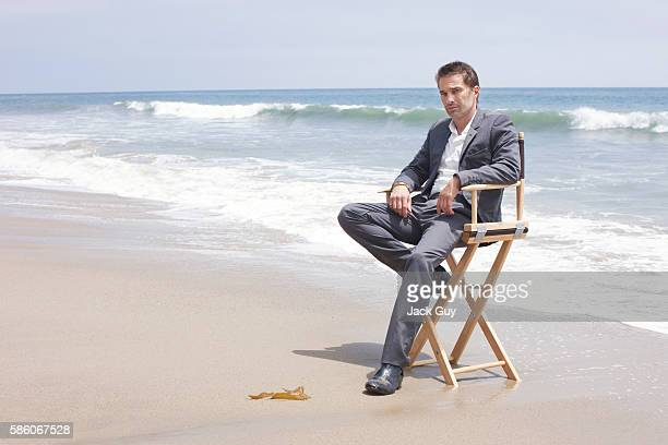 Actor Olivier Martinez is photographed for Ocean Drive Magazine on June 21 2012 in Los Angeles California PUBLISHED IMAGE