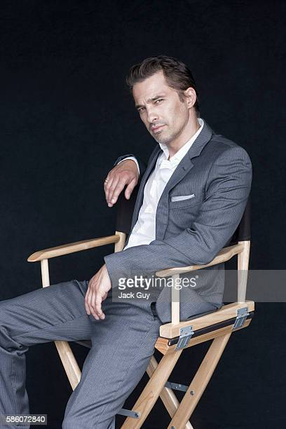 Actor Olivier Martinez is photographed for Ocean Drive Magazine on June 21 2012 in Los Angeles California COVER IMAGE