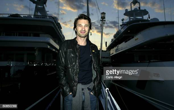 Actor Olivier Martinez poses at a portrait shoot during the 57th International Cannes Film Festival May 17, 2004 in Cannes, France. Actor Oliver...