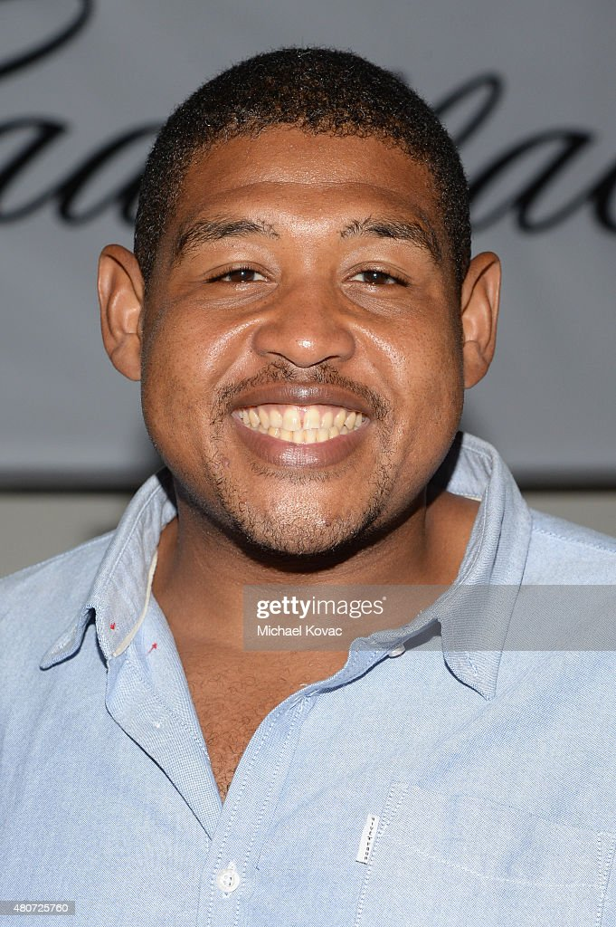 Actor Omar Benson Miller attends BODY at ESPYs at Milk Studios on July 14, 2015 in Hollywood, California.