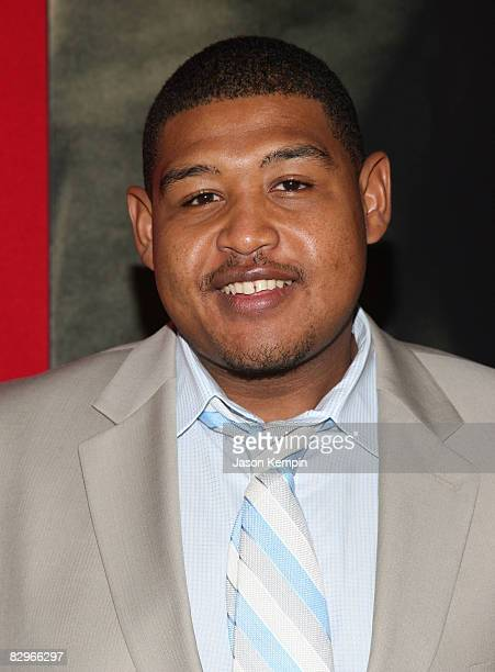 Actor Omar Benson Miller attends the premiere of Miracle at St Anna at Ziegfeld Theatre on September 22 2008 in New York City