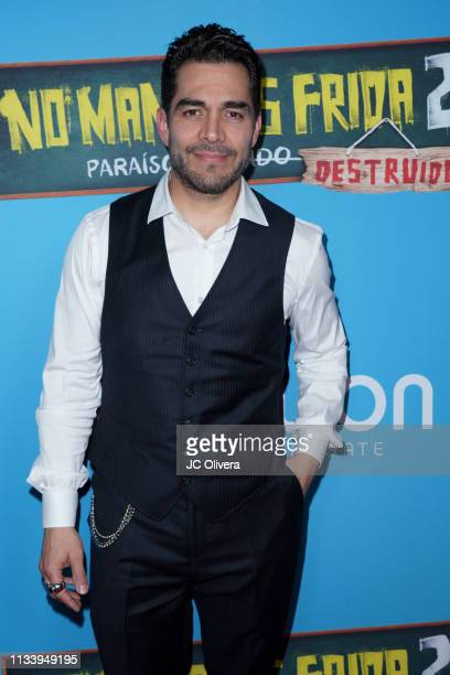 Actor Omar Chaparro attends the premiere of Pantelion Films' ' No Manches Frida 2' at Regal Cinemas LA LIVE Stadium 14 on March 05 2019 in Los...