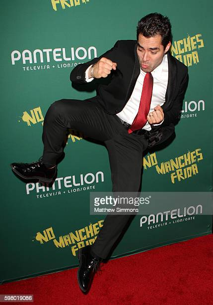Actor Omar Chaparro attends the premiere of Pantelion Films' No Manches Frida at Regal LA Live Stadium 14 on August 30 2016 in Los Angeles California