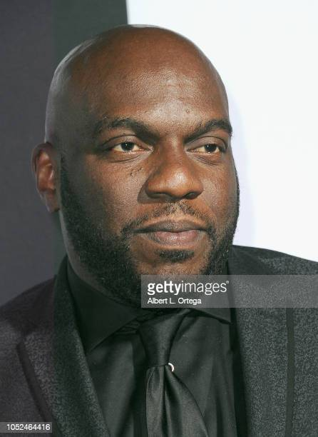 Actor Omar Dorsey arrives for the Universal Pictures' 'Halloween' Premiere held at TCL Chinese Theatre on October 17 2018 in Hollywood California