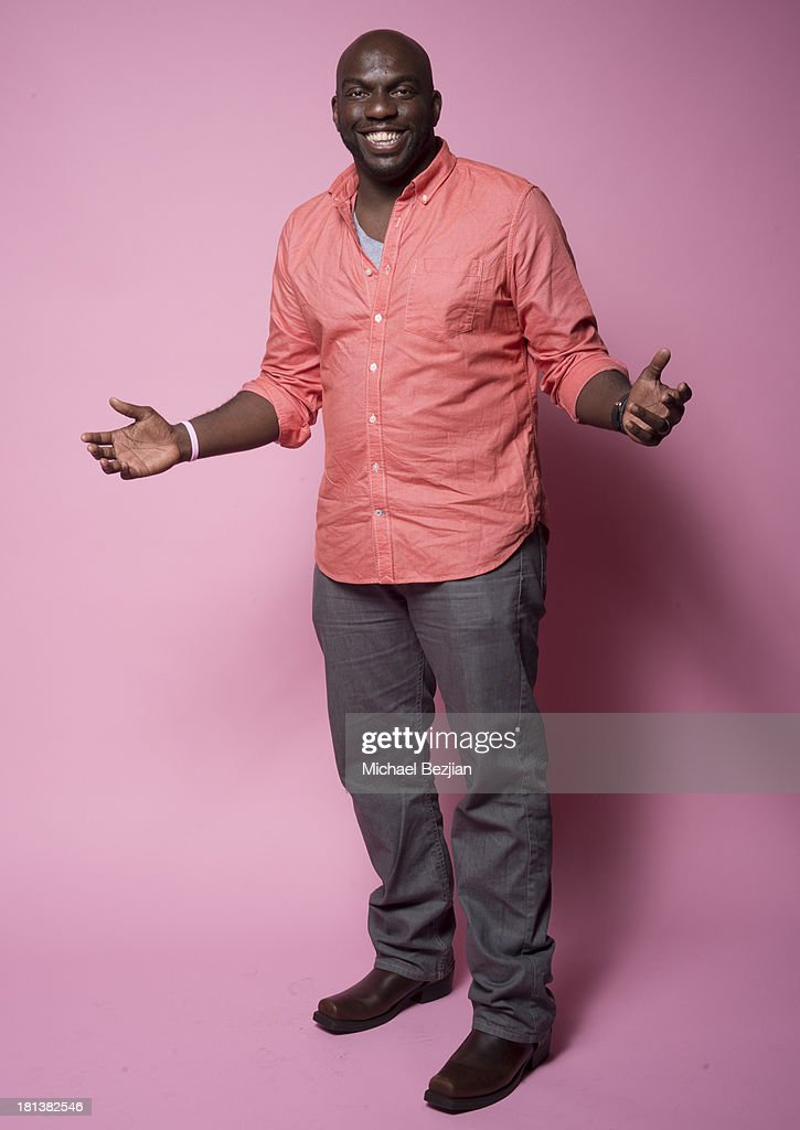Actor Omar Dorsey poses for a portrait at the Mark Kearney Group - 'Iced Out' Luxury Emmy Suite on September 20, 2013 in Los Angeles, California.
