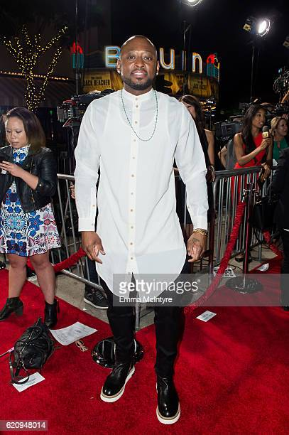 Actor Omar Epps arrives at the premiere of Universal's 'Almost Christmas' at Regency Village Theatre on November 3 2016 in Westwood California