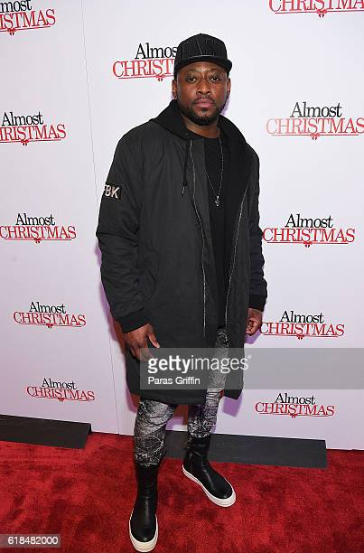 Almost Christmas Actor Omar.Actor Omar Epps Attends Almost Christmas Atlanta Screening
