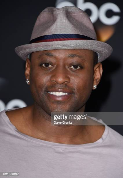 Actor Omar Epps attends the Disney/ABC Television Group 2014 Television Critics Association Summer Press Tour at The Beverly Hilton Hotel on July 15,...