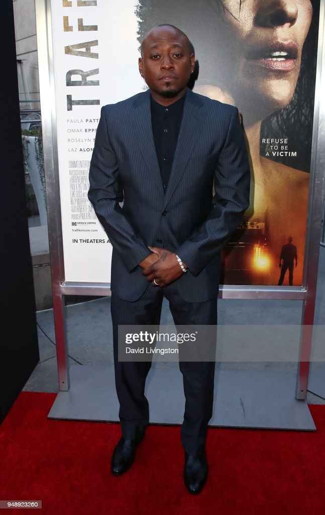 Actor Omar Epps attends the premiere of Codeblack Films' 'Traffik' at ArcLight Hollywood on April 19, 2018 in Hollywood, California.